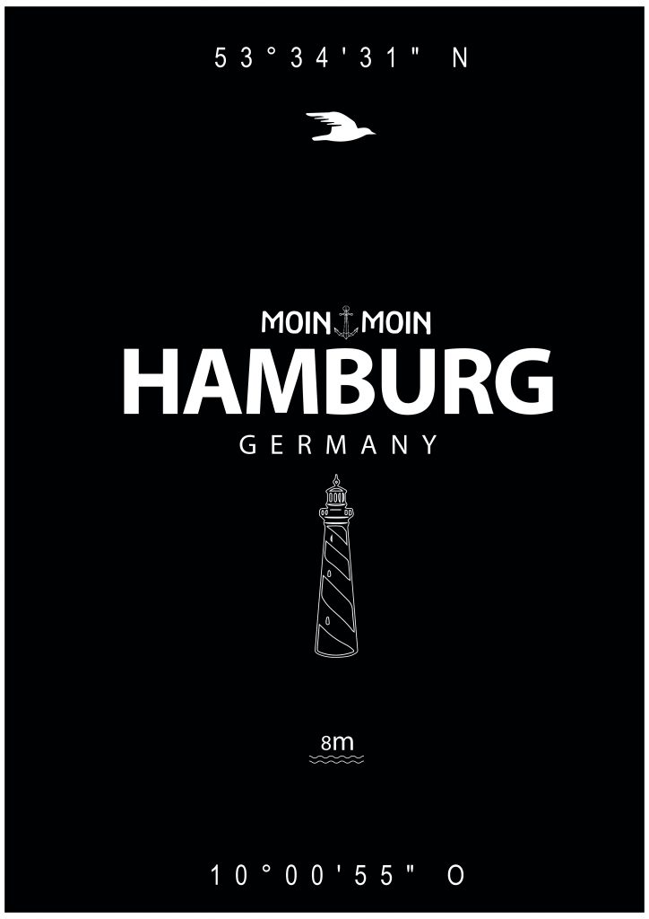 march department Hamburg Design Poster