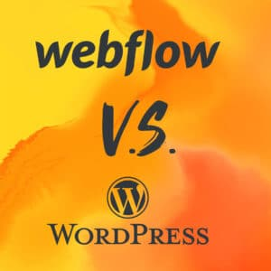 webflow vs wordpress Marc Heine March Department webdesign