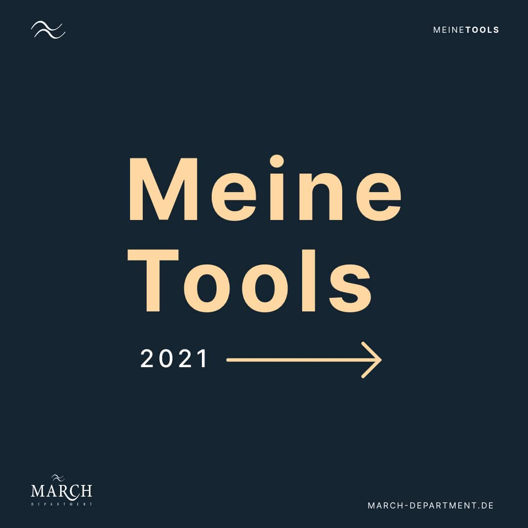 Marc Heine / March Department Tools 2021 Grafikdesign/ Webdesign / Freelancing
